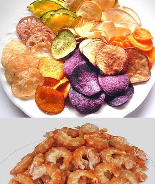 Máy sấy lạnh củ quả hải sản
