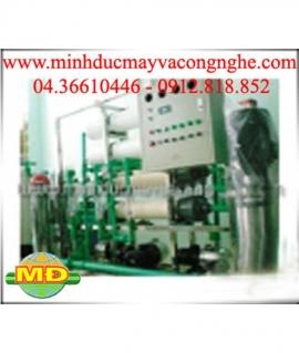 Dây chuyền lọc nước tinh khiết RO 3000 lít/h
