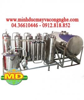 Máy lọc rượu gạo 150 - 300 lít