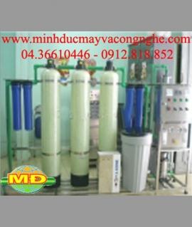 Dây chuyền lọc nước tinh khiết 250-500 l/h