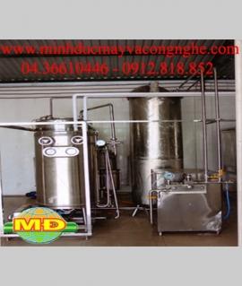 Dây chuyền sản xuất sữa tươi: thanh trùng bằng UHT